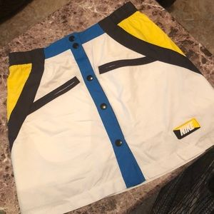 Nike motorsport mini skirt